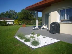 Aménagement d\'une terrasse à Moirans - MD PAYSAGE CONSEILS